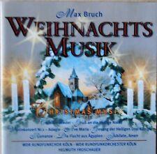 Max Bruch- Weihnachtsmusik -  WDR Rundfunkchor und -Orchester Köln - CD