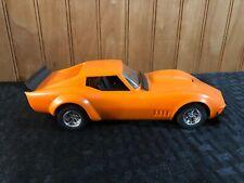 1970's Corvette Vette Baldwin Motion Orange RARE 1/24 Motorized Gears Nichimo