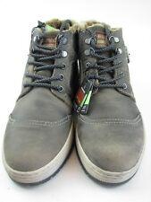 BUGATTI 32-33452 Bottines Homme en gris cuir pointure 42