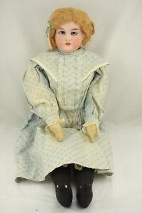 "Rare Antique 24"" Armand Marseille Bisque Talking Doll 201013"