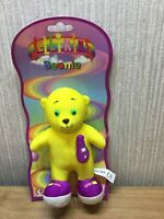 Jellikins Plush Soft Toy Teddy Retro RARE NEW Collectable Retired Yellow Bouncy