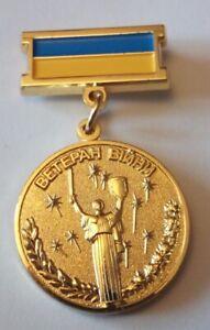 Disabled Veteran war Antiterrorist operation participant Ukraine Military medal