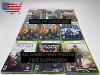 Xbox 360 Games - Professionally Renewed LARGE Lot You Pick Em