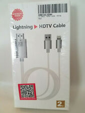 8 Pin Lightning to HDMI HDTV Cable Adapter for iPhone & iPad / NEW