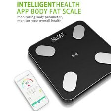 Bluetooth Electric Scales Body Anaylsis Fat Muscle BMI Monitor Weighing Scale US