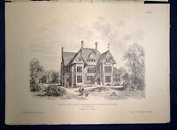 Eisenlohr/ Weigle Architektonische Rundschau 9. Jhg Lieferung 12 1893 Kunst sf