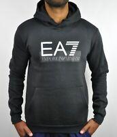Emporio Armani EA7 Logo Hoodie in Black