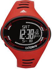 New $95 Adidas ADP3507 Performance AdiZero Red Black Digital Chrono Watch