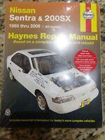 Nissan Sentra 1995-2006 Nissan 200sx 95-06 Repair Manual Haynes 72051