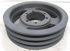 """3 GROOVE V-BELT PULLEY, 3 A8.2 B8.6SK, 9"""" OD, 2 1/2"""" FACE WIDTH"""