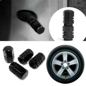 ALUMINUM 4X Tire Wheel Rims Stem Air Valve Caps Tyre TOP Cover Car Truck W8X5