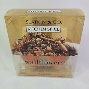 2 Bulbs Bath & Body Works Wallflower Refill Bulb Slatkin Kitchen Spice