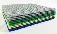 "Brick Loot 10 Pack Lot AAA+ Baseplates 16x16 Dots / Studs 5"" X 5"" Base Plate"