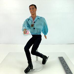 Vintage 1997 Mattel Ken Olympic USA Skater Barbie Doll