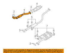 KIA OEM 04-09 Spectra 2.0L-L4 Exhaust System-Front Pipe 286102F360