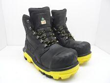 DUNLOP Men's 6'' Composite Toe Composite Plate DLNB16103 Work Boot Black 8M