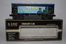 K-LINE O SCALE #K-1998TF CLASSIC 1998 NEW YORK TOY FAIR HOPPER CAR, BOXED