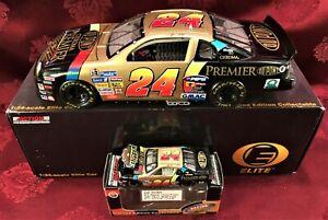 JEFF Gordon #24 Dupont Chroma Premier 1997 Chevy RCCA 1/24 ELITE 1/64 HO Car SET
