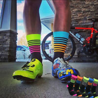 Deporte Calcetines Hombres Mujer transpirables Calcetines de deporte bici Socks