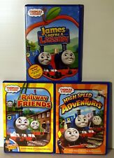 Lot of 3 THOMAS & FRIENDS DVD's FREE SHIPPING !!!
