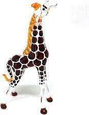 Nice Hand Blown Glass Giraffe Figurine