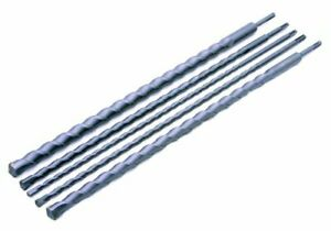 Rolson 48694 SDS Drill Set - 5 Pieces (10, 12, 16, 22, 25 mm)