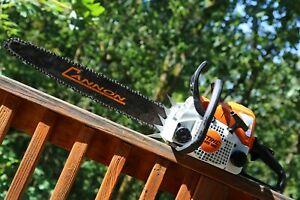 PILTZ Conversion Stihl MS180 HOT SAW 20 inch CANNON bar and Stihl CHAINSAW HARD