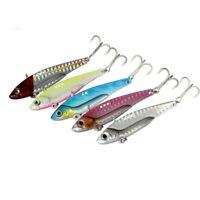 5pcs Metal jig Hard VIB Fishing Lures Crankbaits Hooks Crank Bait Tackle 8 - 20g