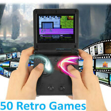 Portable GB PVP Station Game Boy Advance SP Console Player 8Bit 50 Games US Post