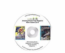 Amazing Stories Pulp Magazine Retro Classic Sci-fi 514 Magazines On DVD