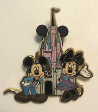 Walt Disney World 50th Anniversary Fantasy Pin Mickey Minnie Mouse WDW 50 Pin