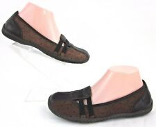 BOC Born Womens Flats Brown Leather Sz 6.5 Worn Twice!