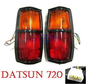 Rear Tail Light Lamp Taillight For Nissan Datsun 720 Pathfinder SD23 D23 1982-84