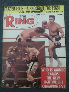 May 1969 THE RING Boxing Magazine - Complete