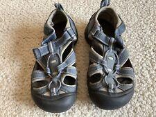 Unisex Girls Boys Kids Keen Newport H2 Blue sandals Sz 1