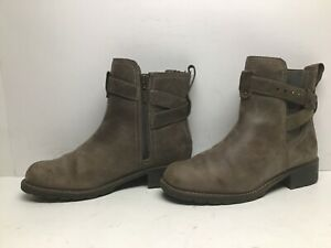 VTG WOMENS CLARKS CASUAL BROWNISH BOOTS SIZE 9.5 M