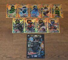 Lego® Ninjago™ Serie 3 Trading Cards limitierte Auflage XXL Karte aussuchen LE