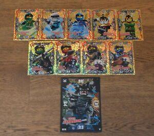 Lego ninjago™ Series 3 Trading Cards Limited Edition XXL Card Choose Le
