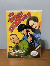 The Three Stooges Nintendo NES Brand New Factory Sealed