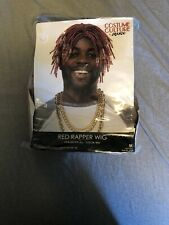 Red Rapper Adult Wig
