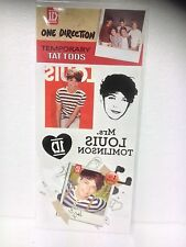One Direction (1D) Louis Tomlinson Temporary Tattoos