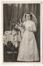 1963 HORTA FAYAL Faial AZORES Portugal PORTUGUESE First Communion PHOTO Acores