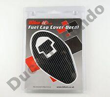 Fibra De Carbono Look Tanque De Combustible Tapa Relleno Gas calcomanía para Ducati 999s 03-07 04