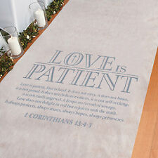 Love Is Patient Aisle Runner - Party Decor - 1 Piece