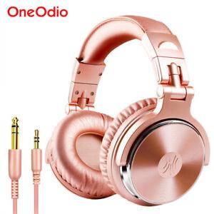 Oneodio Studio Pro10 Wired DJ Headphones Over Ear HiFi Headset Monitor Earphone