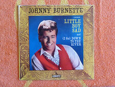 JOHNNY BURNETTE Little Boy Sad 45 rpm PICTURE SLEEVE ONLY Liberty 1961
