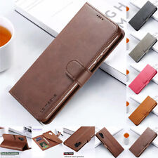 Case For Samsung Note 10 S20 Ultra S10E S9 S8 Plus Flip PU Leather Wallet Cover