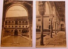 GRANADA POSTCARDS VTG MIX LOT OF 5 EARLY 1900'S UNUSED REMOVED FROM ALBUM 1 RPPC