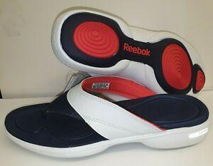 Reebok Easytone Flip Flops Beach Shoes Toning Fitness UK 8.5 J87534