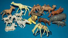 Heinerle figuras de animales África con original werksbemalung rareza de Piñata
